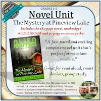 Mystery at Pineview Lake Novel UNIT