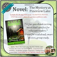 Mystery at Pineview Lake Novel