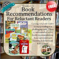 Book Recommendations for Reluctant Readers