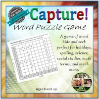 Capture Word Puzzle Game