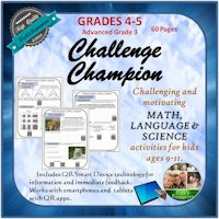 Math, Language, Science Challenge Activities