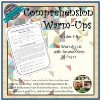 Comprehension Warm-Ups