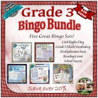 Grade 3 Bingo Bundle
