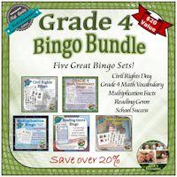 Grade 4 Bingo Bundle