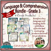 Grade 3 Language and Comprehension Bundle