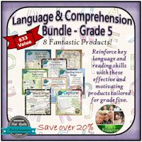 Grade 5 Language and Comprehension Bundle