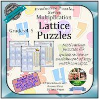 Lattice Puzzles