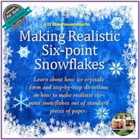 Making Realistic Six-Point Snowflakes.