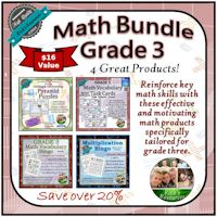 Grade 3 Math Bundle