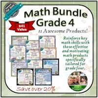 Grade 4 Math Bundle