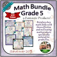 Grade 5 Math Bundle