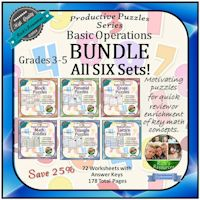 Math Puzzles Bundle