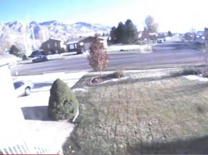 Meteror over Utah