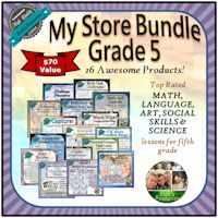 My Store Bundle Grade 5