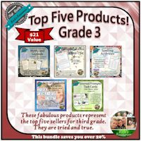 Grade 3 Top Five Products Bundle