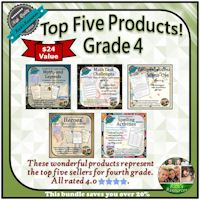 Grade 4 Top Five Products Bundle