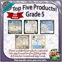 Grade 5 Top Five Products Bundle