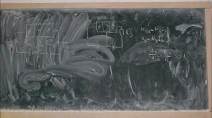 Messy Chalkboard