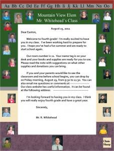 Class Letter