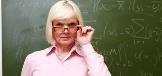 Stern teacher